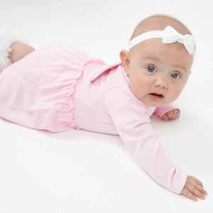 Pink Baby Dress with Angel Wings - miniplum