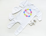 personalised baby set