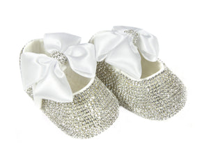 white baby girl shoes