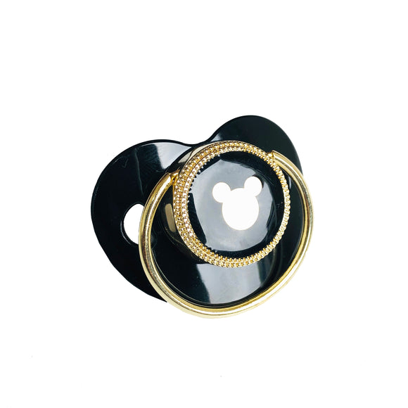 black gold pacifier