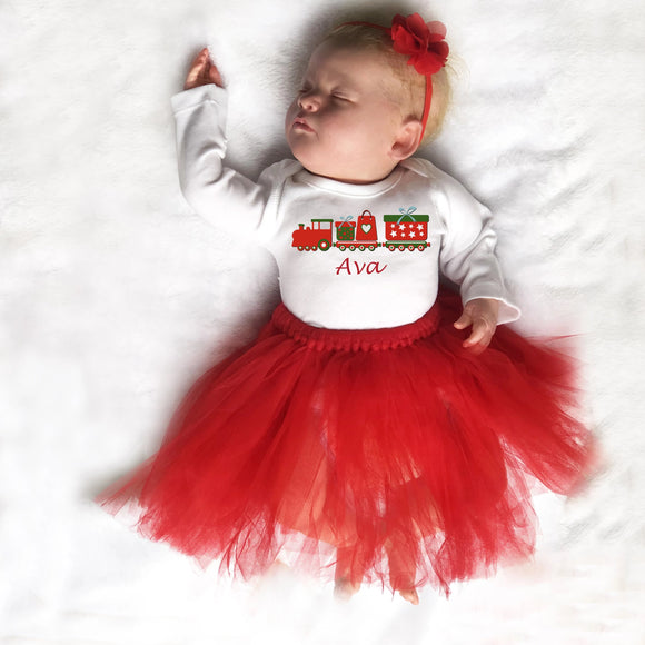christmas gift for baby girl - christmas baby outfit