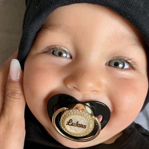 personalized pacifier bling