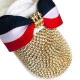 gold baby boy shoes
