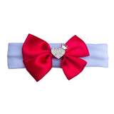 Bling Heart Bow