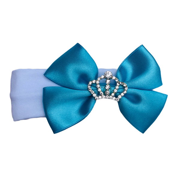 Crown Baby Bow