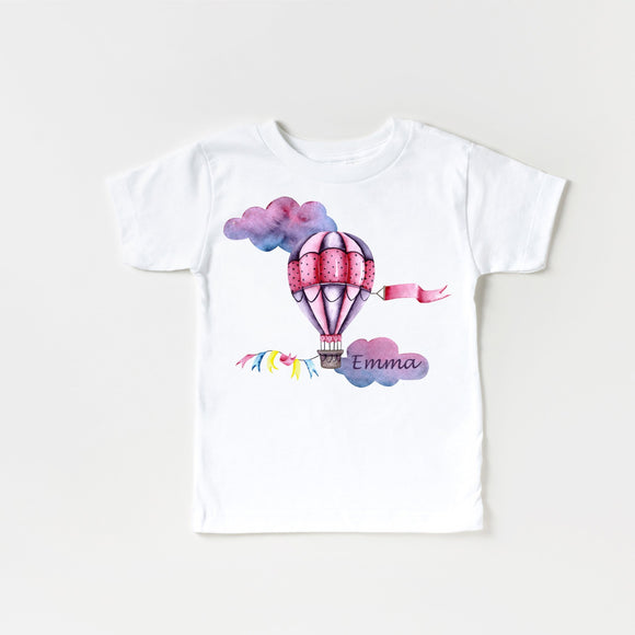 Pink Dreams Air Balloon Tshirt&Bodysuit