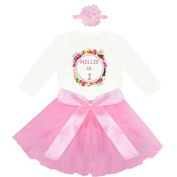 Personalised First Birthday Outfit