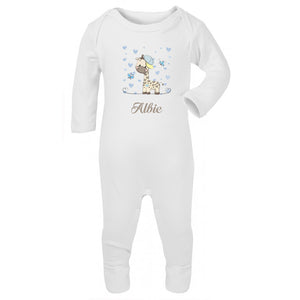Personalised Baby Sleepsuit-Graff - miniplum