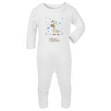 Personalised Baby grow with graff