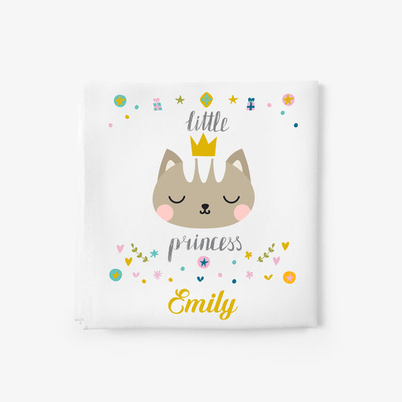baby girl blanket with kitty
