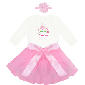 baby girl tutu dress - personalised baby girl gift