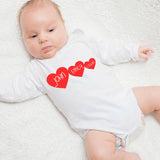 valentines day baby grow