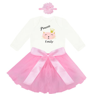 Personalized Baby Tutu - Kitty