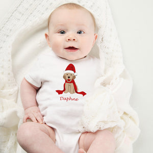 Personalized Christmas Onesie