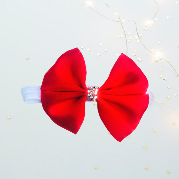 Red Bling Bow
