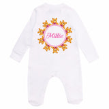 personalised baby clothes pink