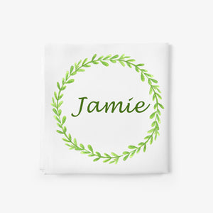 personalised baby blanket with name