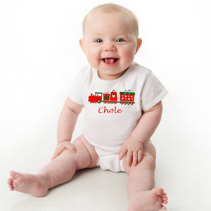 Personalized Baby Christmas Onesie