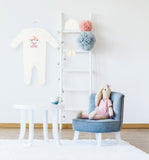 Personalised Baby Sleepsuit-Unicorn - miniplum