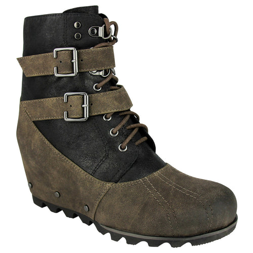 not_rated_boot_women_strap_Hermione - Taupe