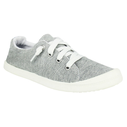 Not_Rated_Rae_sport_shoe_sneaker_textile-upper_rubber-sole_low-cut_lace_women_grey Grey