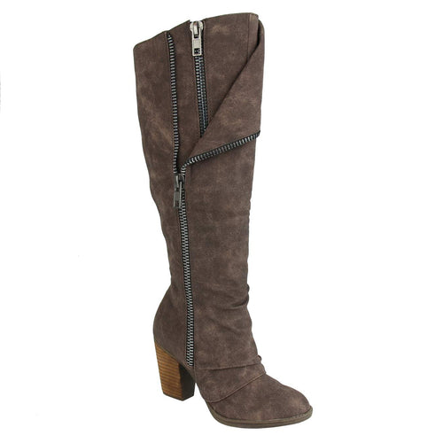 Not_Rated_Valda_Tall-boot_stacked-heel-3.5inches_women_Brown