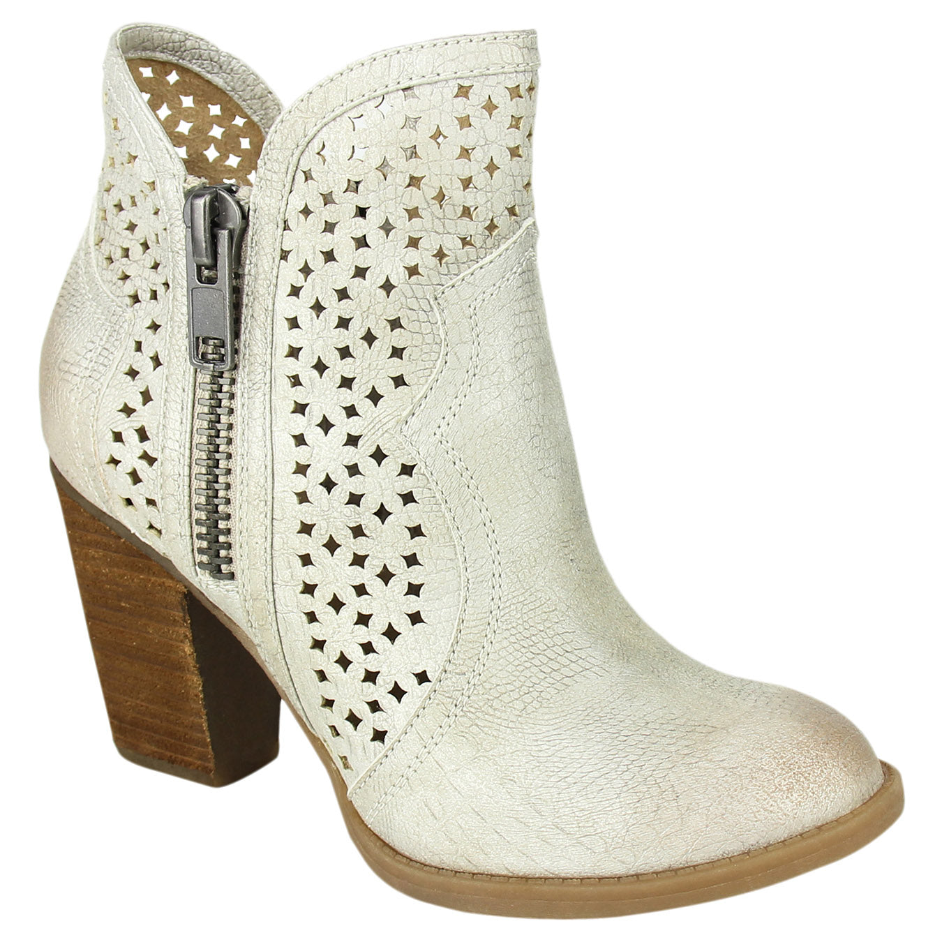 Not_Rated_bootie_cream_heel_cut_outs_women's_Gretchen