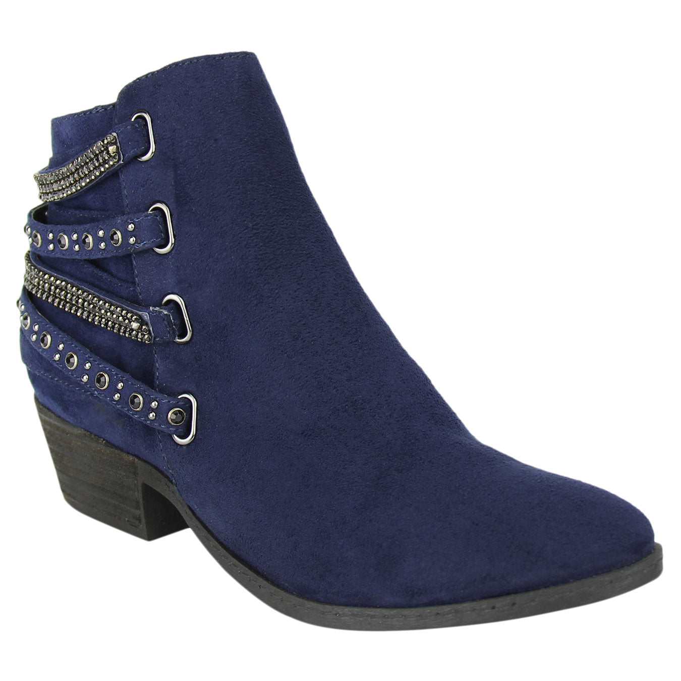 Not_Rated_bootie_navy_women's_heel_embellished_strappy-Lynn