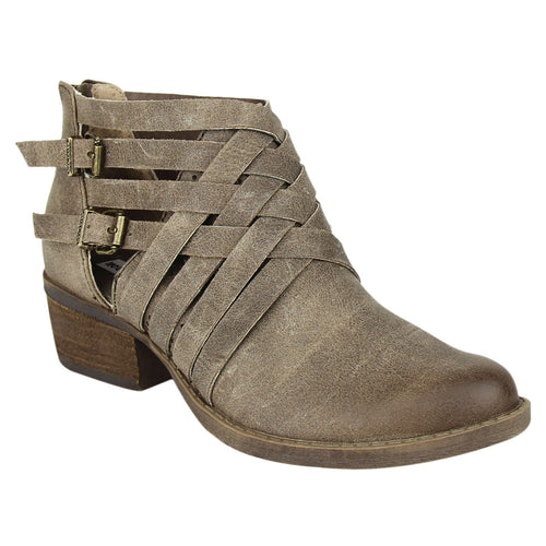 not_rated_bootie_interlocking_straps_stacked_heels_faux-leather_taupe-women