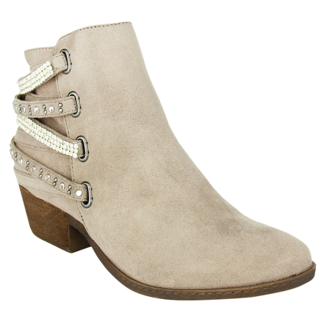 not_rated_bootie_stacked_heel_faux-leather_women's_taupe