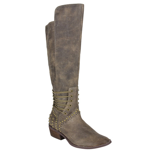 not_Rated_tall_boot_zipper_stacked-heel_women's_khaki