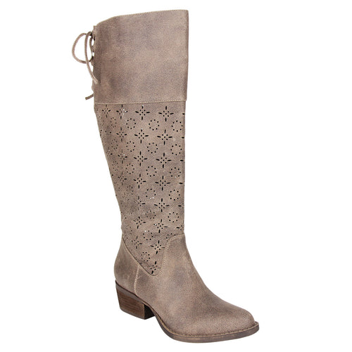 not_rated_tall_boot_1.5 inch heel_decorative_cut_outs_almond-shape_toe_women_Taupe