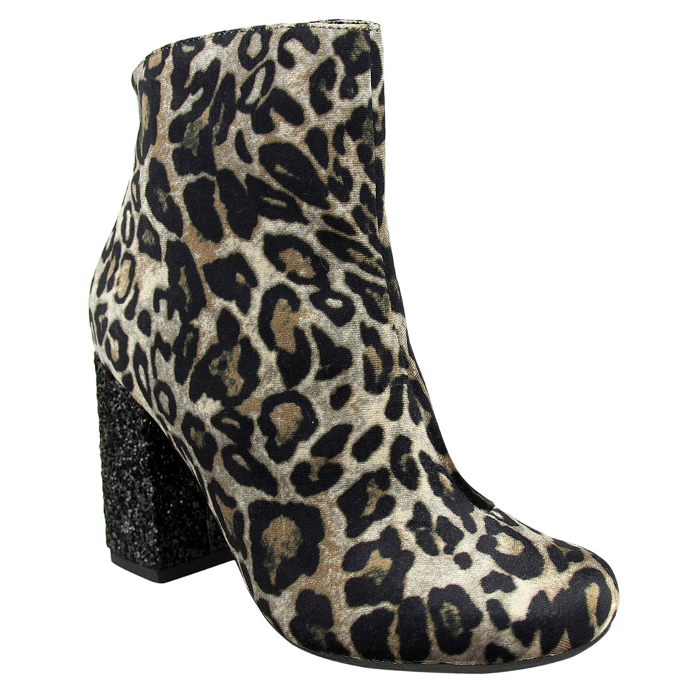 not_rated_cherry_bootie_boot_leopard_glitter_heel_women