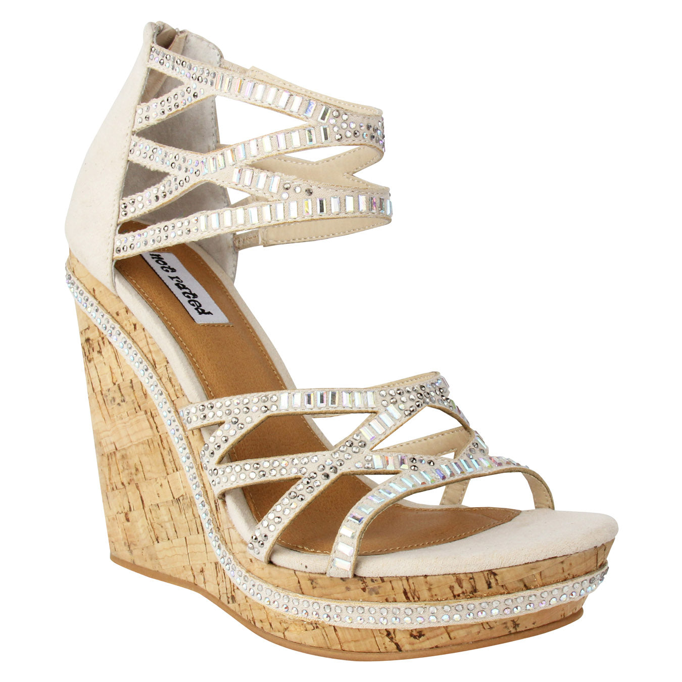 CORAL SEA - NUDE Wedge
