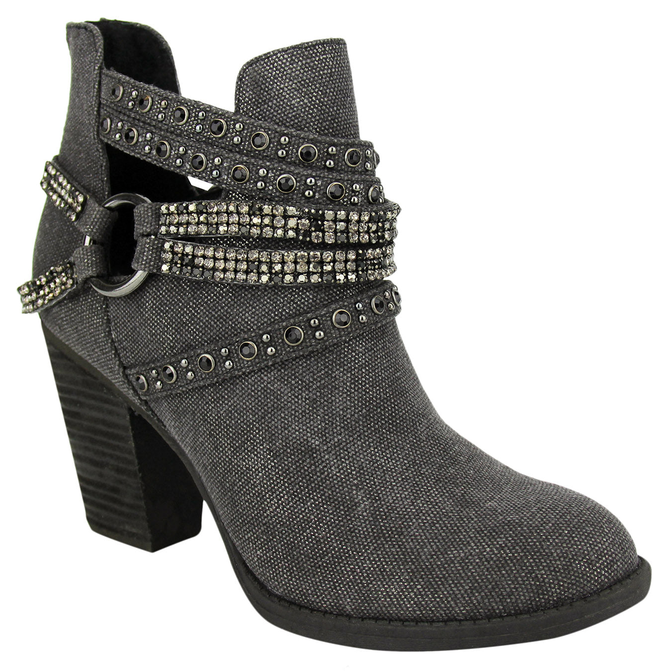 not_rated_bootie_stacked_heel_straps_embellished-women_Elly_black