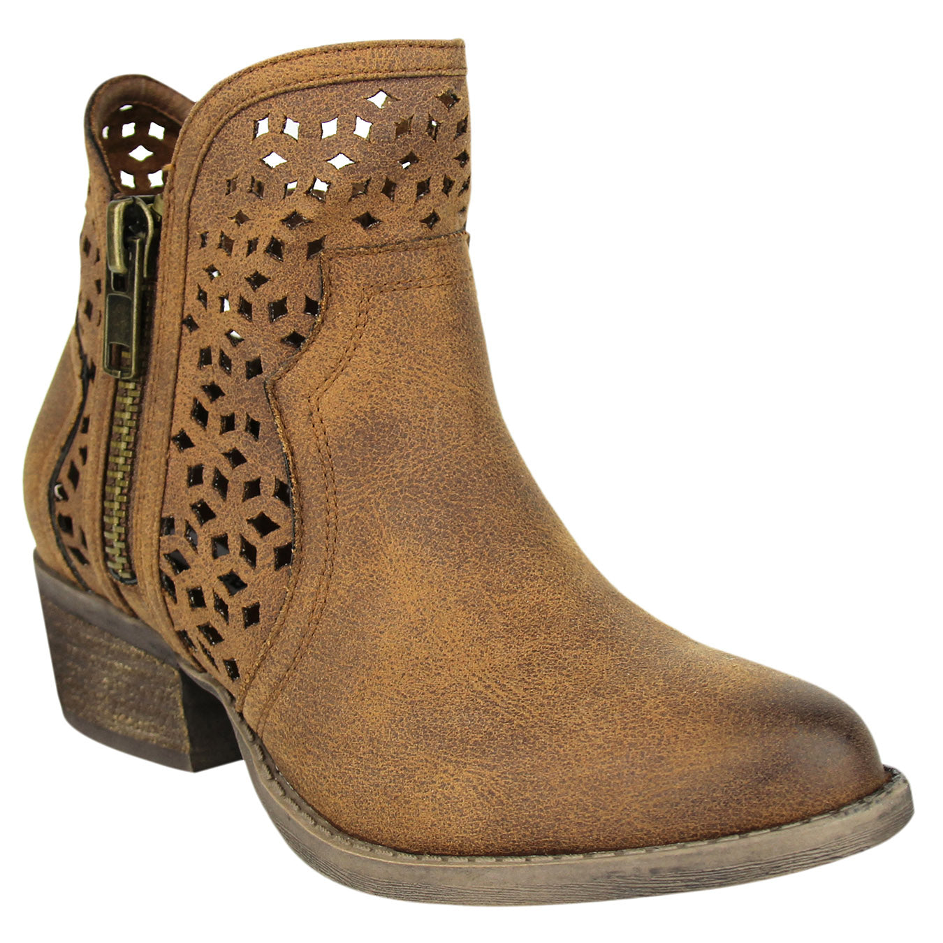 Not_Rated_Etta_women's_low-boot_laser-cut-out_zipper_heel-1.5inches_tan