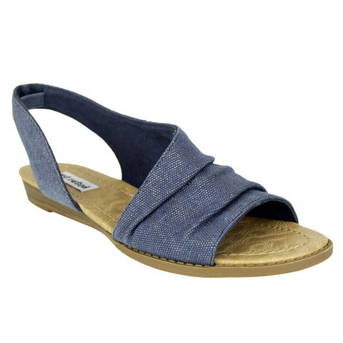 Shanna - Navy/Tan