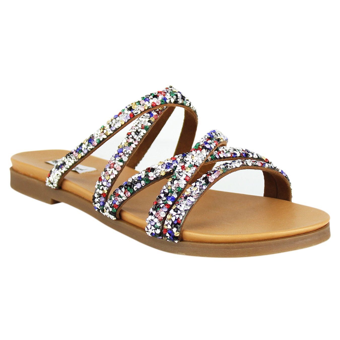 not_rated_sandal_strap_fashion_women_multi_color_rhinestones_metallic_studs