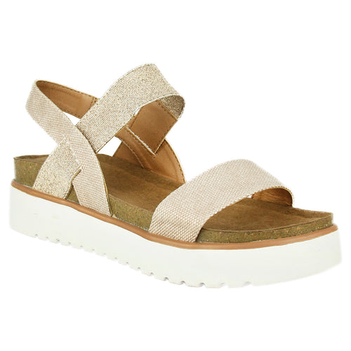 Not_Rated_Asuma_ women's_sandal_platform_2-inch_heel_decorative 1 ¼ inch_elastic-ankle_strap_cushioned_insole_glimmer_rose-gold