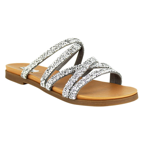 not_rated_sandal_fashion_strappy_metallic_studs_rhinestones_women_silver