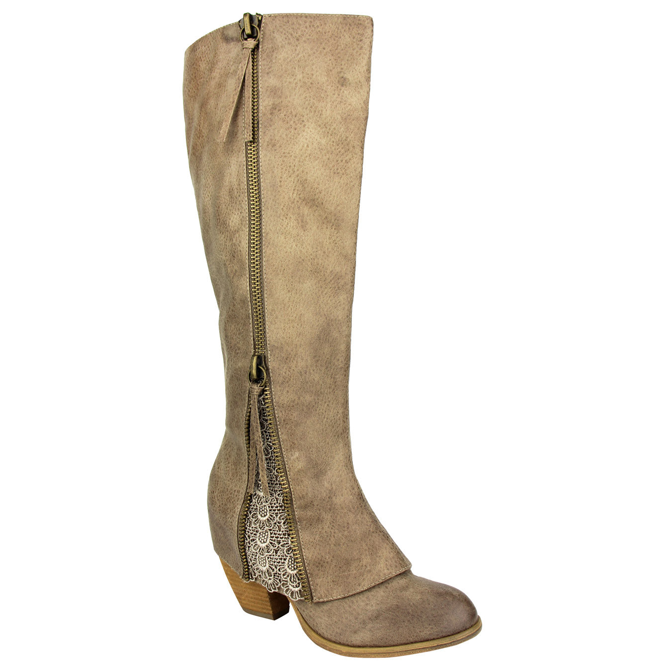Not_Rated_women's_tall-boot_3inch-heel_zipper_taupe