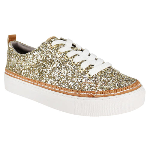 Not_Rated_women's_sneaker_glitter_sparkle_Chestnut_gold