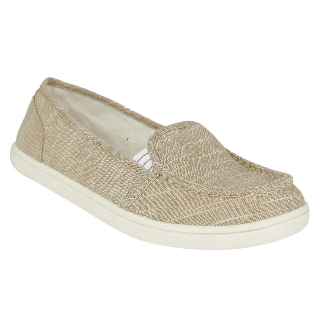 not_rated_women_flat_moc_canvas_sneaker_shimmer_taupe