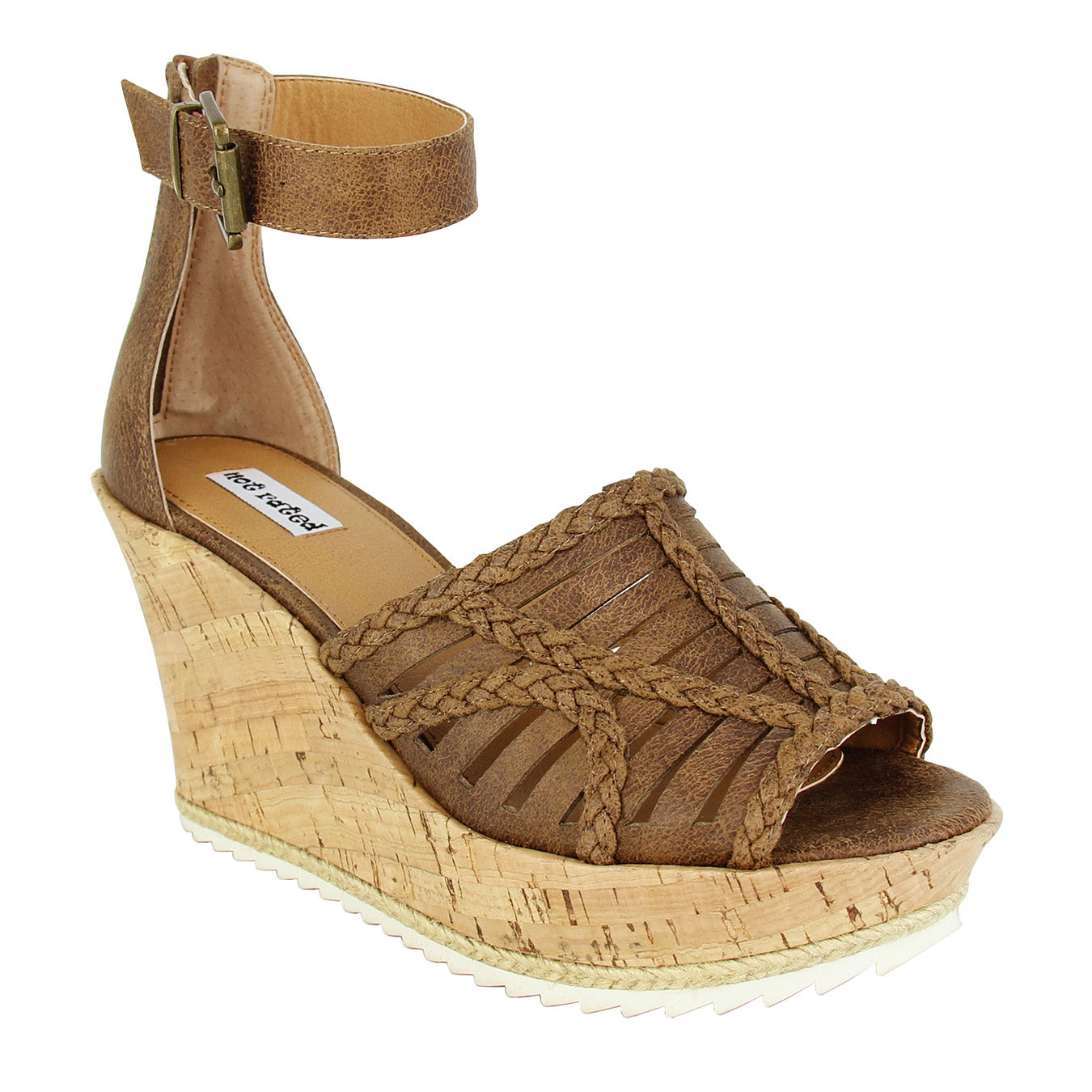 Not-Rated_wedge_caged_upper_zipper_ankle_strap_3.5 heel_tan_women