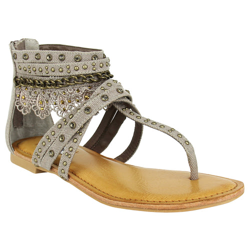 Wilma - Taupe Sandal