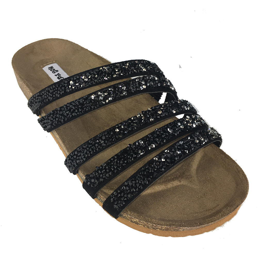 not_rated_women_sandal_flat_slide_slip-on_multi_strap_stones_embellished_glam_black