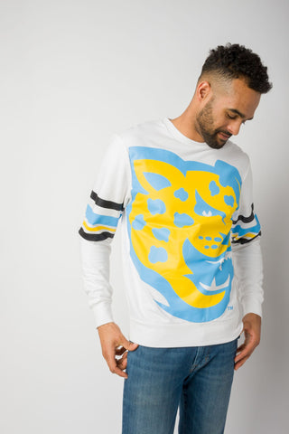 Southern University Oversized Printed Crew-neck