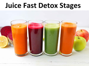 Many people have heard of juice fasts as a means of detoxifying the body.