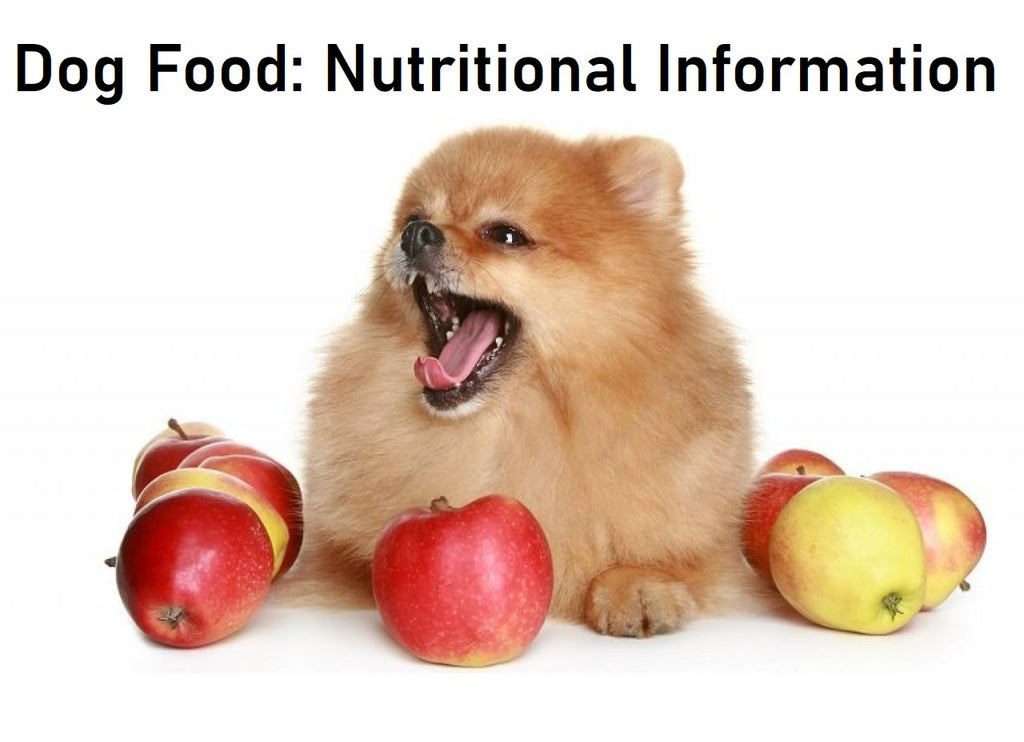 Dog Food: Nutritional Information