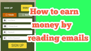 Earn $890 in 1 Hour Just By READING EMAILS! (Make Money Online)